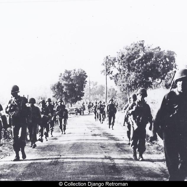 Soldats américains , débarquement de Pro