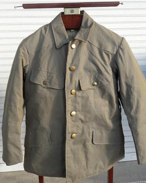 Vareuse Armée Impériale Japonaise époque seconde guerre mondiale .  English :  Japanese Imperial Army , soldier jacket , WWII