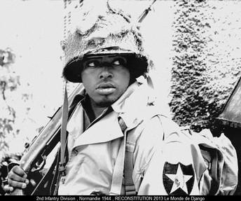 Soldat américain , normandie 1944