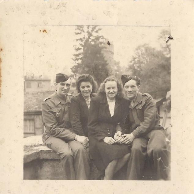 Soldats français tenue modèle 44