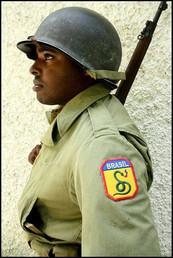 Soldat du Corps  Expeditionnaire Brésilien en Iitalie