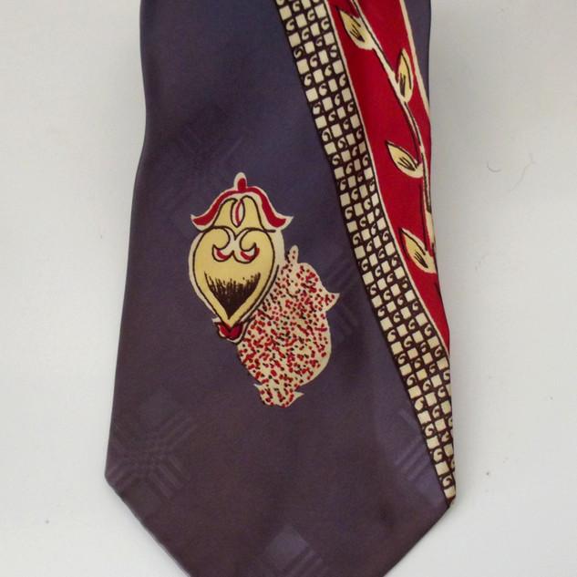 Cravate années 50