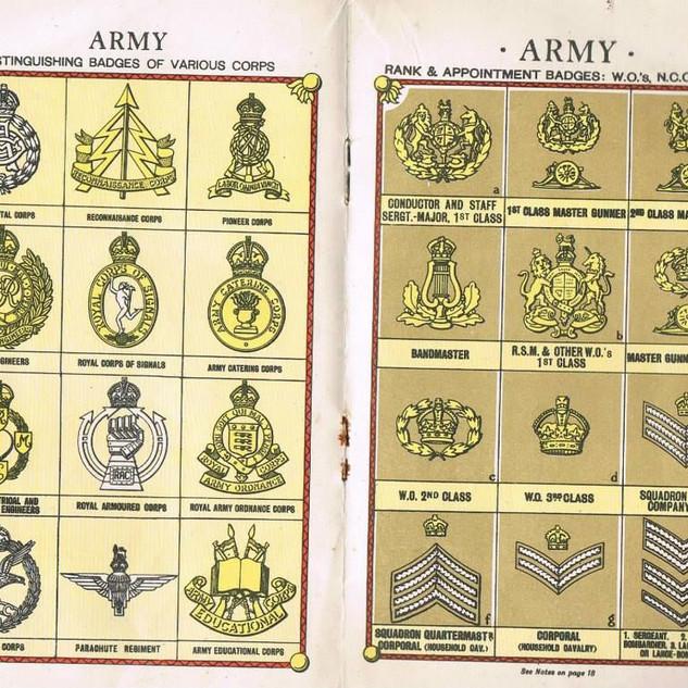 Brochure Armée Britannique