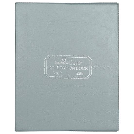 Mahavir Collection Book - No.7 (20.5cm x 16cm) - Payment Record Book - (Grey)