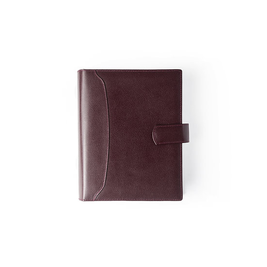 Personal Organizer- One Day a Page- Maroon