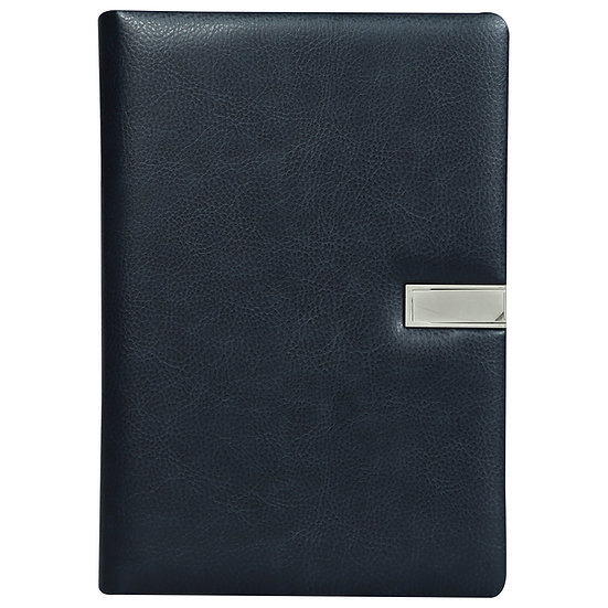 A5 Size Flash Note Book (with 16GB Pen Drive)- Blue