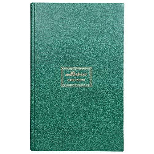 Mahavir Cash Book - Fullscape Size - Double Column Register - No.2- (Green)