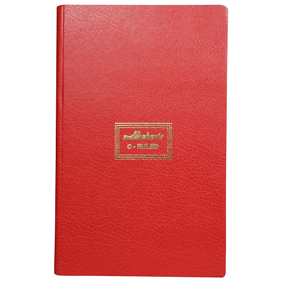 Mahavir C Ruled - Fullscape Size - Lined Register - No.4 (272 Pages) - (Red)