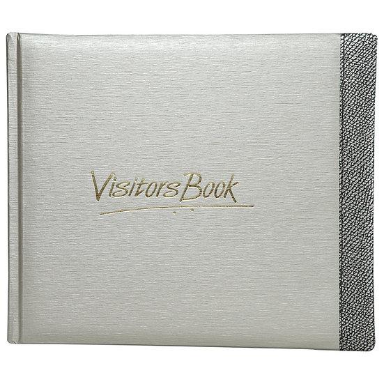 Mahavir Visitors Book- Medium Size- Grey