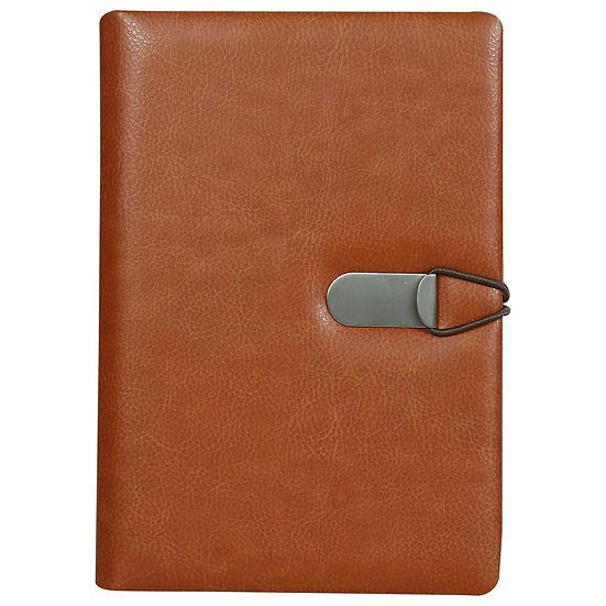 A5 Size Clip - On Notes- Tan