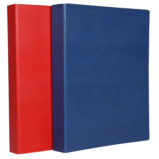 A4 Premium Ring File 1'' -  4 Ring- (Blue+Red)
