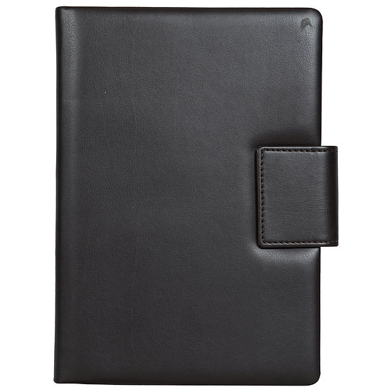 A5 Size Note Book With Magnetic Flap- Maroon