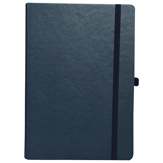 A5 Size Personal Notes with Elastic- Blue