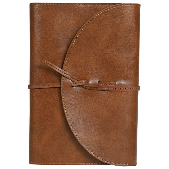 A6 Size Vintage Notes- Tan