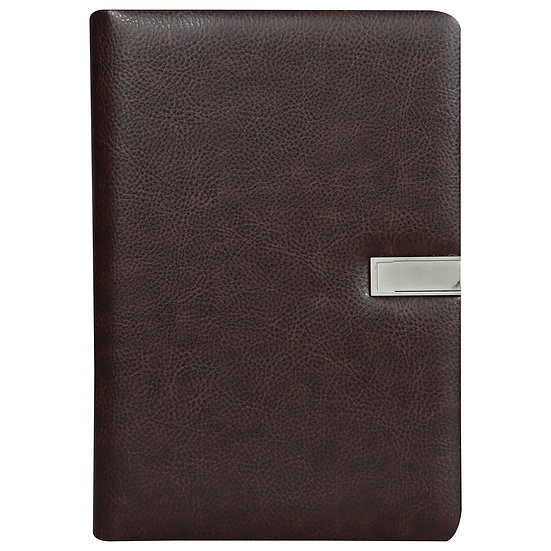 A5 Size Flash Note Book (with 16GB Pen Drive)- Maroon