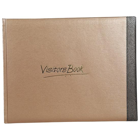 Mahavir Visitors Book- Large Size- Brown