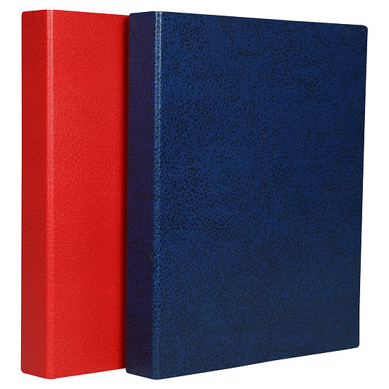 A4 Premium Ring File 1'' -  2 Ring- (Blue + Red)