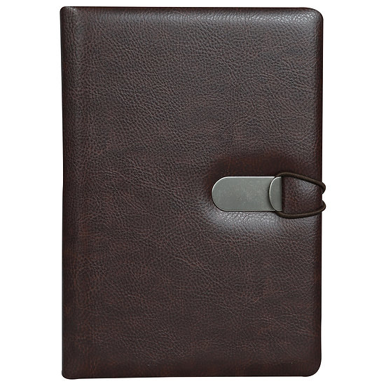A5 Size Clip - On Notes- Maroon