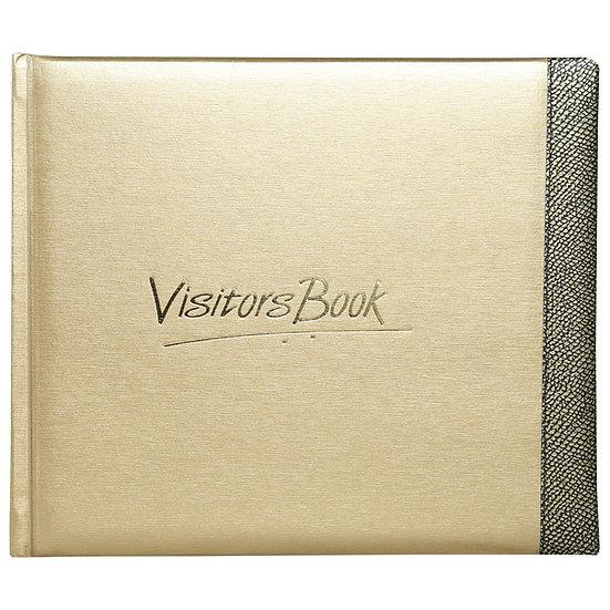 Mahavir Visitors Book- Medium Size- Gold