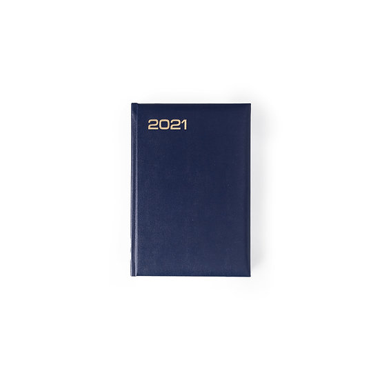 A4 Size - Week At A Glance New Year Diary- Blue