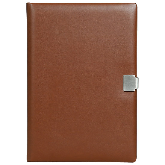A5 Size Slide - On Notes- Tan