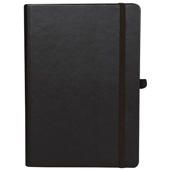 A5 Size Personal Notes with Elastic- Maroon