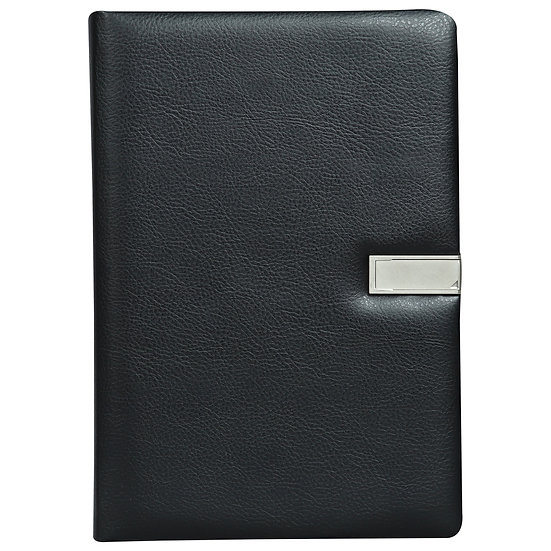 A5 Size Flash Note Book (with 16GB Pen Drive)- Black