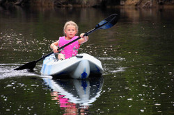 Canoeing on Frankland River