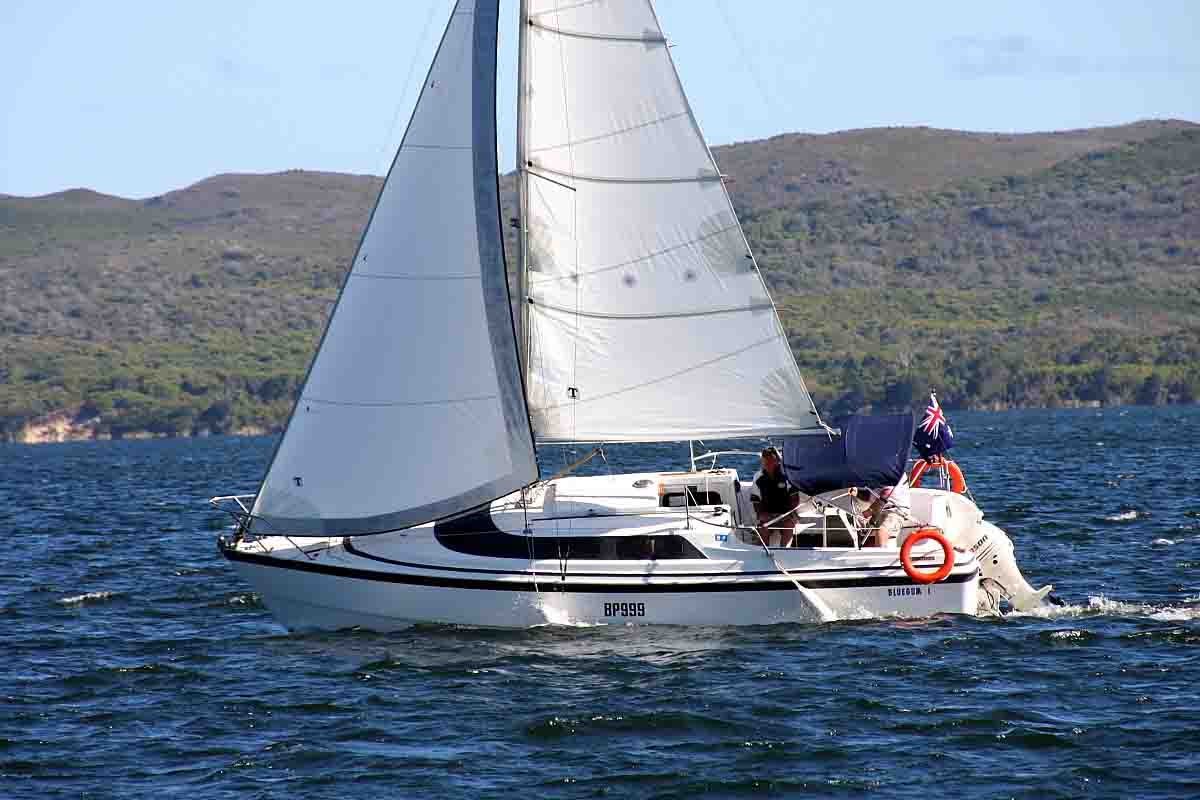 Yachting on Walpole Estuary
