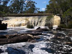 Fernhook Falls in Winter