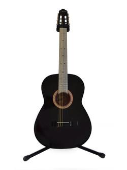 Guitarra Clásica Negra Tapa