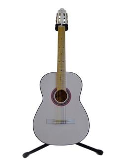 Guitarra Clásica Blanca Tapa