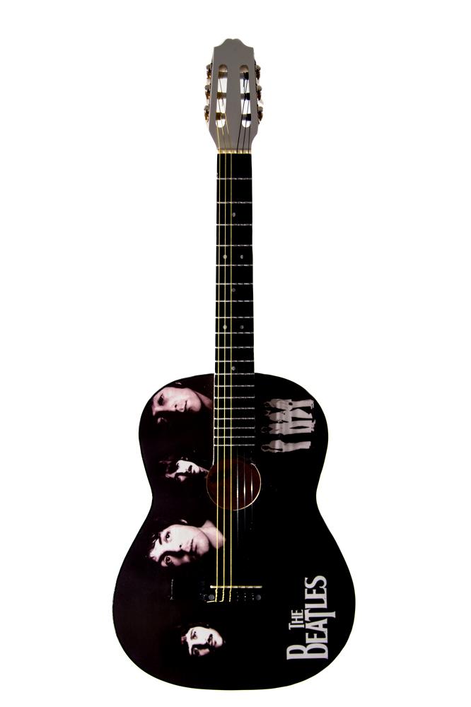 Guitarra cromo tapa
