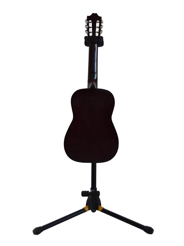 Guitarra infantil cromo fondo