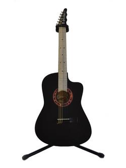 Guitarra Rockera Negra