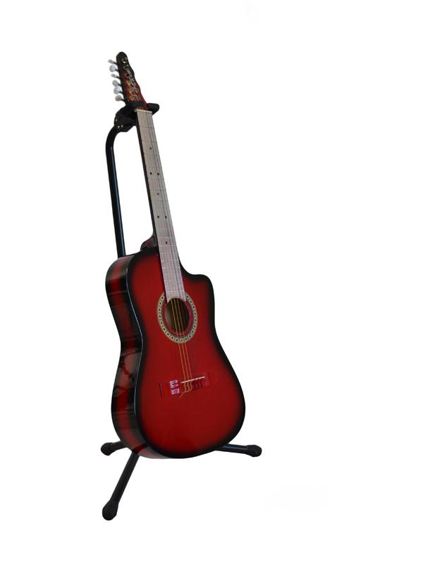 Guitarra Rockera Rojo Sombra