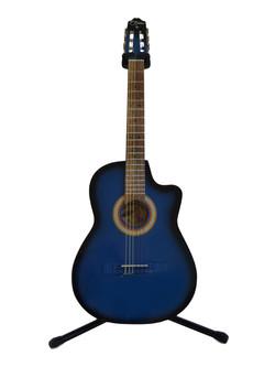 Guitarra curva electroacústica