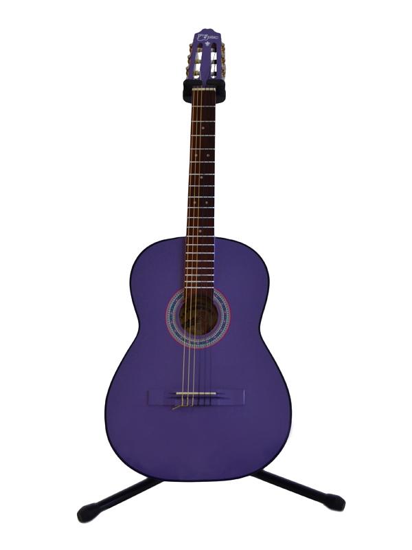Guitarra Clásica Morada Tapa