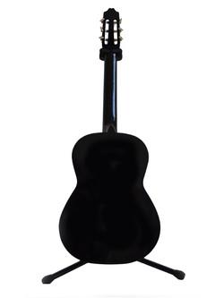 Guitarra cromo fondo