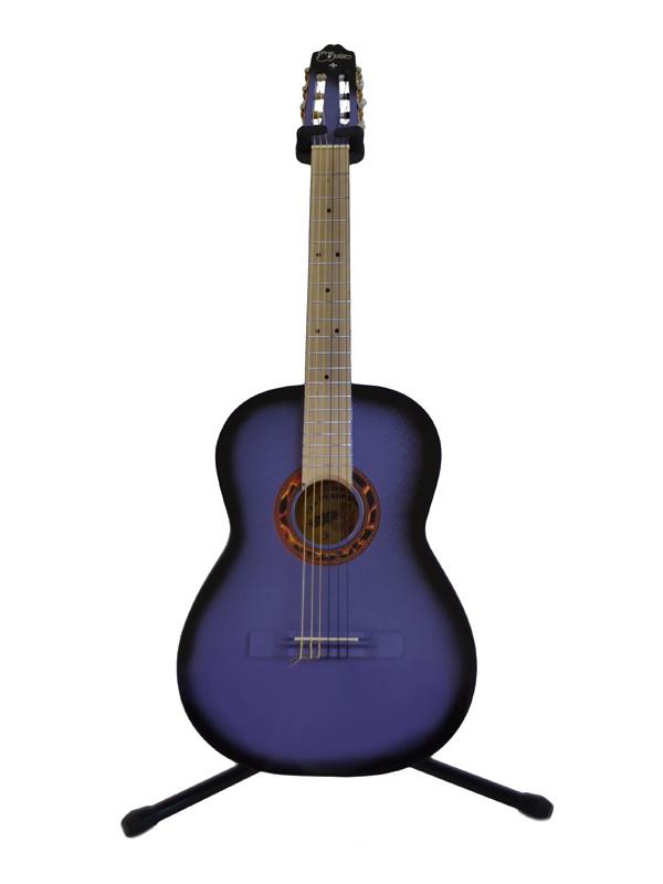 Guitarra Clásica Morada Sombra Tapa