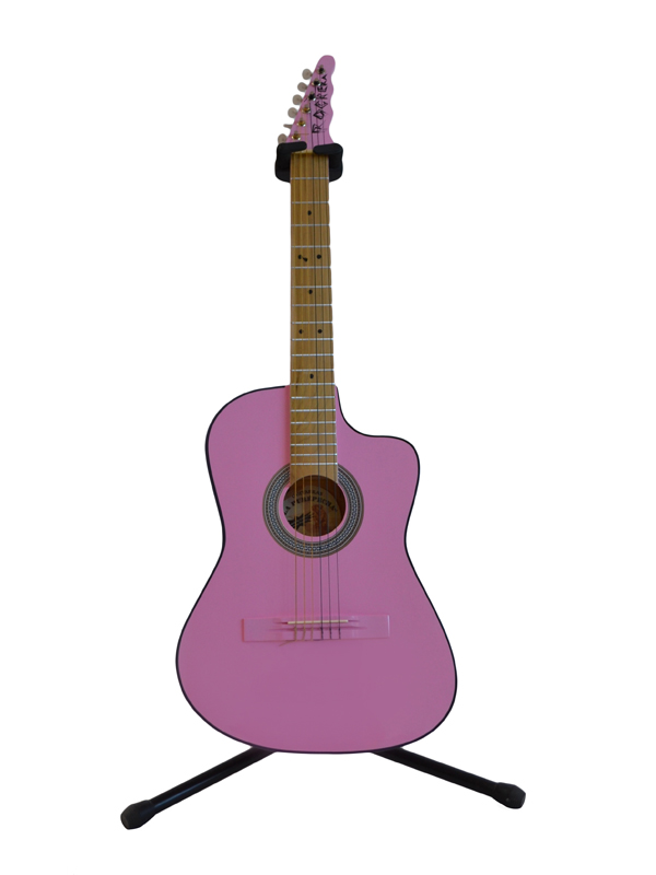Guitarra Rockera Rosa