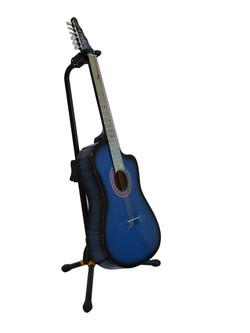 Guitarra Rockera Azul Sombra