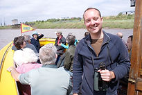 Ed Drewitt on Bristol Ferry Boat