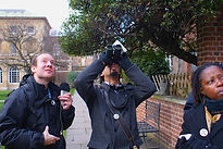 Ed Drewitt reporting on Peregrines