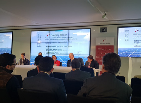 Oportunidades para la inversión en energía limpia entre México y el Reino Unido