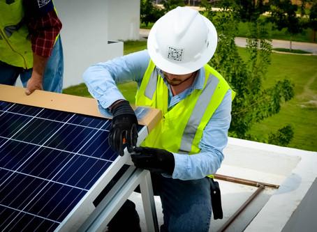 Instalación masiva de sistemas fotovoltaicos