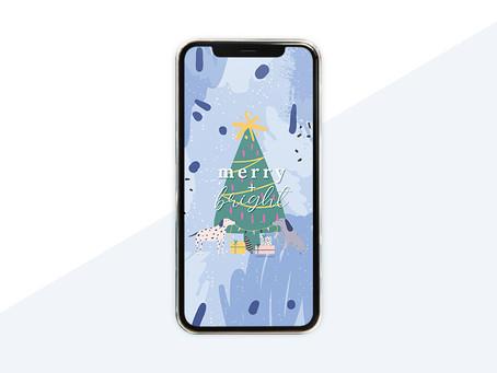 Free Phone Wallpaper For December 2020
