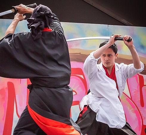 Shunsaku Yanai @Sword Fighting Show