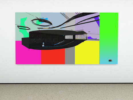 Raphael Brunk I #888d6b I 2020 I 175 x 140 cm I UV-Print on Alucore