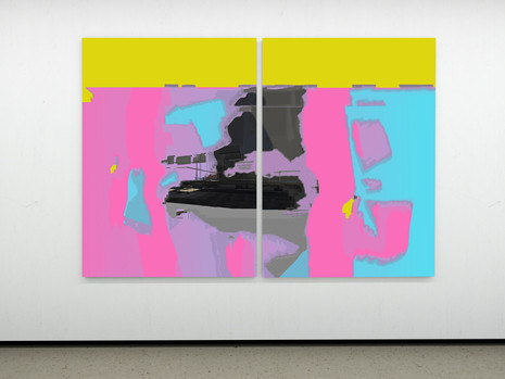 Raphael Brunk I #b29690 I 2020 I Diptychon, 210 x 153 cm each I UV-Print on Alucore